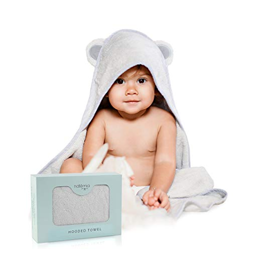 7. Natemia Rayon Baby Hooded Baby Towels $21.95