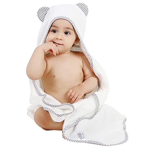 9. Organic Baby Hooded Baby Towels $17.96