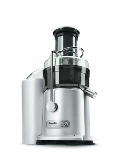1 Breville JE98XL Juice Fountain Plus 850-Watt Juice Extractor