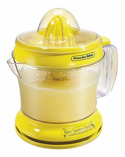 10 Proctor Silex 66331 Alex's Lemonade Stand Citrus Juicer, 34 oz