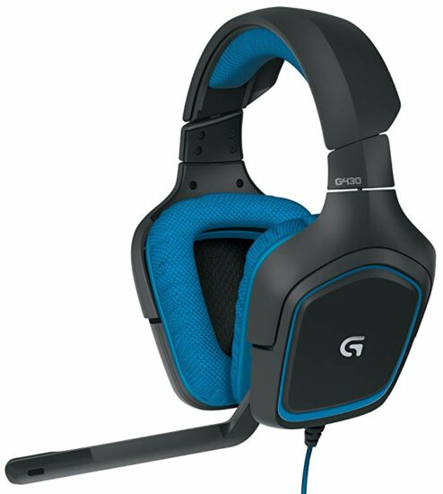 4. Logitech G430 7.1 DTS Headphone Gaming Headset