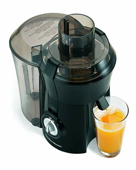 6 Juicer, 800 Watt, Black