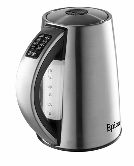 6 Epica Stainless Electric Kettle