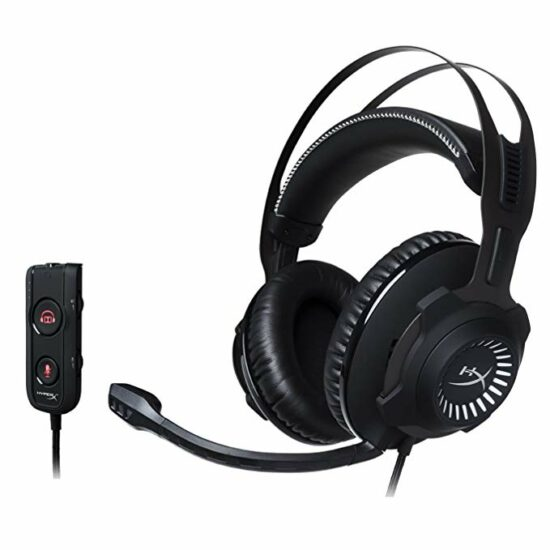 2. HyperX Cloud Revolver S Gaming Headset (PC, All PS4's, All Xbox One's)