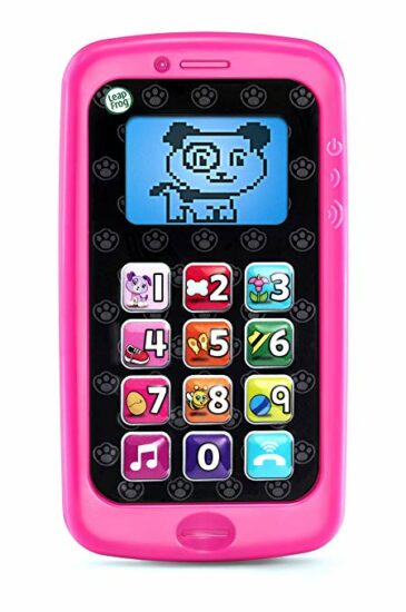 10. LeapFrog Chat and Count Smart Phone