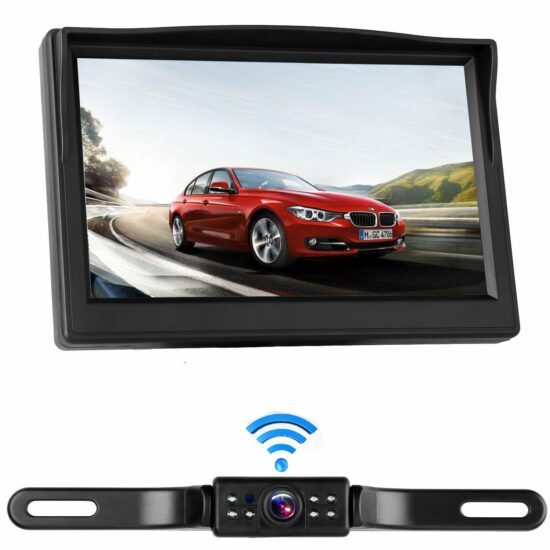 Top 9 Best Rear View Camera Monitor 2019 Reviews