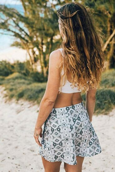 5. Quick recover-up up that multitask as the perfect travel/summer skirt