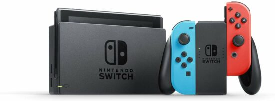 9. atomic number 10 blue and atomic number 10 red Joy con