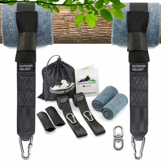 7: Outdoor Delight Tree Swing Straps Hanging Kit Extra Long 10ft