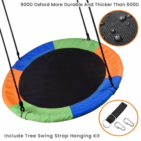 8: WONDERVIEW Tree Swing, Outdoor Swing with Hanging Strap Kit