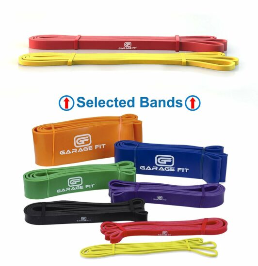 1: Heavy-Duty Pull Up Resistance Bands Draper's Strength