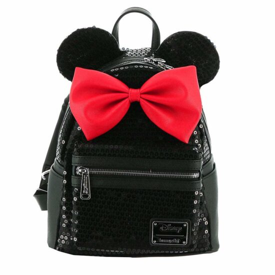 9. Disney Loungefly Minnie Sequin Backpack
