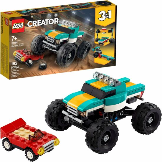 1. LEGO Creator 3in1 Monster Truck Toy