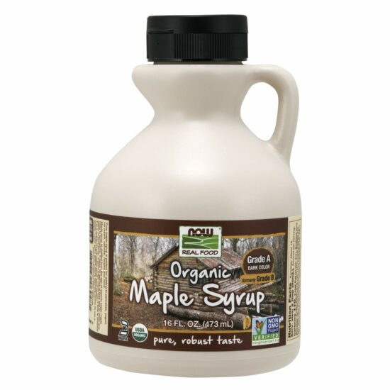 9. NOW Foods Grade A Organic Maple Syrup