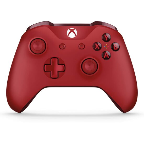3. Red Xbox Wireless Controller
