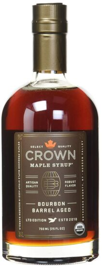 7. Maple Crown with Robust Flavor Bourbon Syrup
