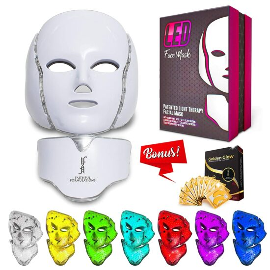 10. LED Mask Therapy with Facial Photon
