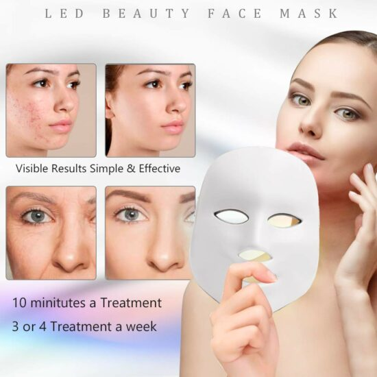 4. LED Face Mask Light Therapy