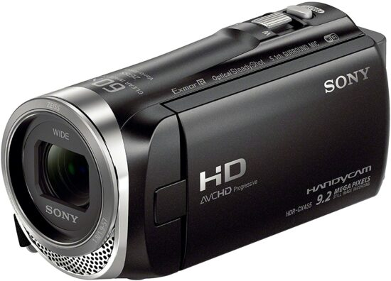 1. Sony HDR CX455 video camcorder