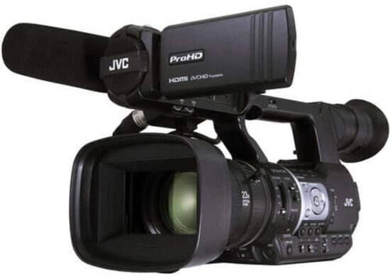 7. JVC GY- HM620 camcorder video camera