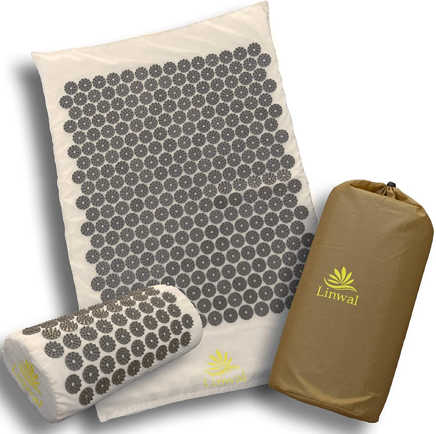 6. Linwal Acupressure Mat Large with Extra Acupuncture Points