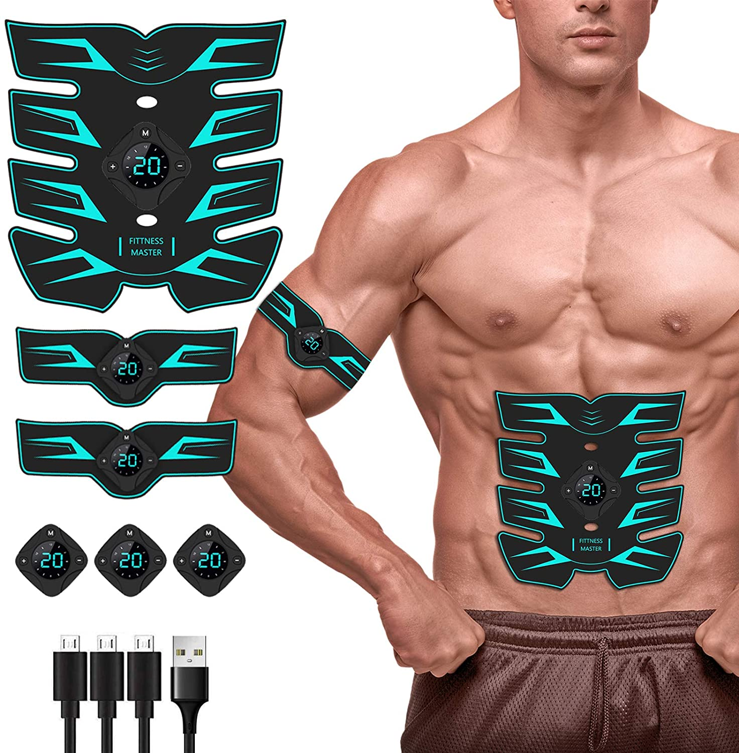 10: Abs Stimulator for Women, 2021 Newest Electric Muscle Stimulator