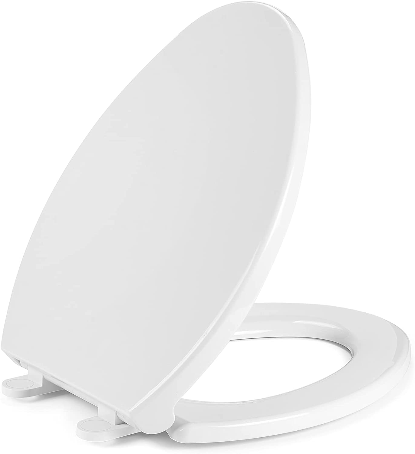 4. Retrolife Elongated Durable seat for Elongated Oval Toilets